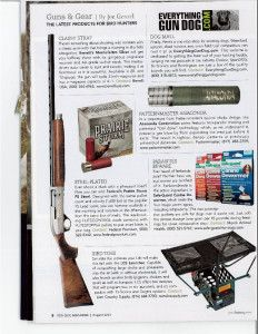 Gun Dog Magazine Launch Article