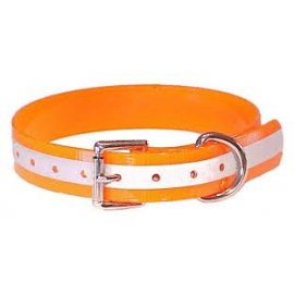 "1"" Wide DuraFlect Standard Collar by Mendota - Orange DuraFlect"