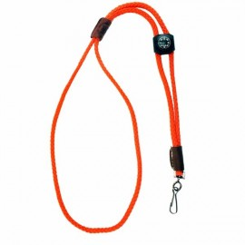 Whistle Lanyard with Compass by Mendota- Orange, Product 6806