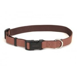 "Remington 1"" Canvas Collar - Brown 18"" - 26"" R6931"