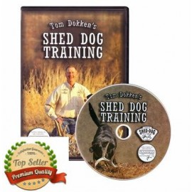 Tom Dokken's Shed Dog Training DVD by Shed Dog Trainer SA-DVD