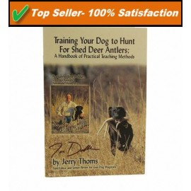 Shed Dog Antler Training Book By Shed Dog Trainer SA-BKP