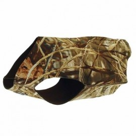 Hunting Dog Vest in Realtree Max-4 Camo by Dokken Dead Fowl Trainer VMX