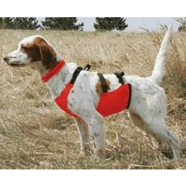 Hunting Dog Chest Protection Skid Plate by Mendota Orange