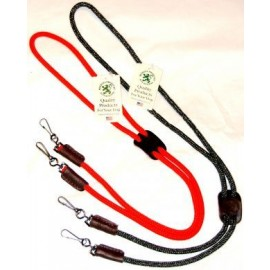 Double Whistle Lanyard by Mendota- Orange and Camo