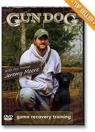 Gun Dog Game Recovery Training DVD